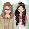 Одевалка: наряжаем сестричек (Boho Chic Sisters dress up game)