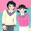 Одевалка: Школьные друзья (School friends dress up)