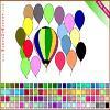 Раскраска: Шарики (Balloon Coloring)