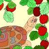 Раскраска: Сладкие ягоды (Kids coloring: Sweet berry)