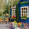 Пазл: Синий коттедж (Jigsaw: Blue Cottage)
