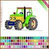 Раскраска: Трактор (Tractor Coloring)
