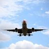 Пазл: Приземляющийся самолет (Jigsaw: Airplane Landing)