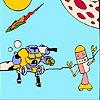 Раскраска: Роботы (Robots coloring)
