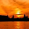 Пазл: Силуэты заката (Jigsaw: Sunset Silhouette)
