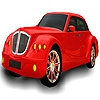 Раскраска: Супер автомобиль (Fast nice car coloring)