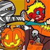 Раскраска: Хэллоуин (Scary Halloween Coloring)