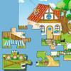 Детский крупный пазл: Ферма (Super Farm Jigsaw)