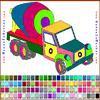 Раскраска: Грузовик (Truck Coloring)