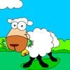 Раскраска: Веселая овечка (Coloring funny sheep)