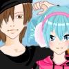 Одевалка:  Друзья детства (Anime childhood friends dress up game)