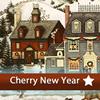 Поиск отличий: Вишневый новый год (Cherry New Year 5 Differences)