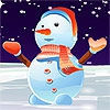 Одевалка: Снеговик (Cute Snowman Dressup)