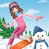 Одевалка: Сноубордистка (Snowboard Girl Dress Up)