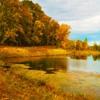 Пазл: Осеннее озеро. (Jigsaw: Autumn Lake)