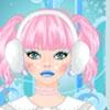 Макияж: Снежная зима (Icy winter make over game)
