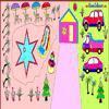 Раскраска: Зимний курорт (Christmas In Resort Coloring)