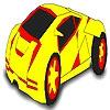 Раскраска: Авто (Magnificent car coloring)
