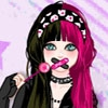 Одевалка: Девочка эмо (Kawaii emo girl dress up game)