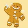 Пряники-человечки (Gingerbread Men Cookies)