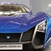 Пазл: Синяя машина (blue car jigsaw)