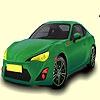 Раскраска: Гоночный авто (Very speedy car coloring)