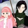 Одевалка: Зима в стиле Аниме (Anime winter couple dress up game)