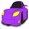 Раскраска: Маленький авто (Cute small car coloring)