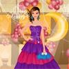 Одевалка: Королева вечеринки (New Year's Beauty Queen Dress Up)