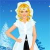 Одевалка: Ледяной цветок (Ice Flower Princess Dress Up)