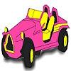 Раскраска: Ретро-авто (Great fascinating car coloring)