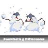 Пять отличий: Снежки (Snowballs 5 Differences)