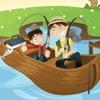 Поиск слов: Рыбалка (Gone Fishing Word Search)