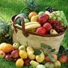 Пазл: Корзина фруктов (Jigsaw is a basket of fruit)