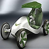 Пятнашки: Концепт  (Green concept car slide puzzle)