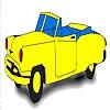 Раскраска: Кабриолет (Classic hot car coloring)