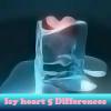 Пять отличий: Сердца (Icy heart 5 Differences)