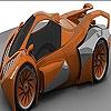 Пятнашки: Экзотическая машина (Exotic car slide puzzle)