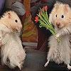 Передвижной пазл: Мышата (Cute mice slide puzzle)