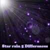Пять отличий: Звездный дождь (Star rain 5 Differences)