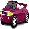 Раскраска: Маленький автомобиль (Little hot car coloring)