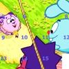 Пятнашки: Смешарики (Cheerful balls puzzle)