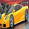 Раскраска: Желтый автомобиль (Superb yellow car coloring)