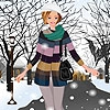 Одевалка: Зимняя прогулка (Sam winter walk dress up)
