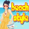 Одевалка: Пляжный стиль (Beach Style Dressup)