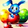 Пазл: Кролик (Bunny Puzzle)