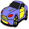 Раскраска: Машина мечты (Fast amazing car coloring)