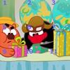 Пятнашки: Смешарики 2 (Cheerful balls puzzle 2)