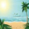 Поиск чисел: Солнечный пляж (Sunshine beach)