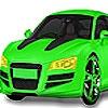 Раскраска: Зеленая машина (Pistachio green car coloring)